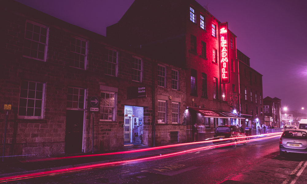 The Leadmill at night