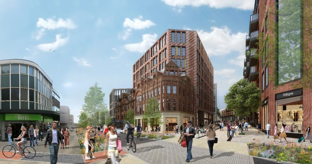 Ambitious plans to transform travel in Sheffield city centre revealed